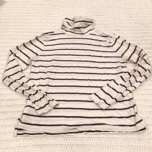 Madewell brand turtleneck shirt EUC